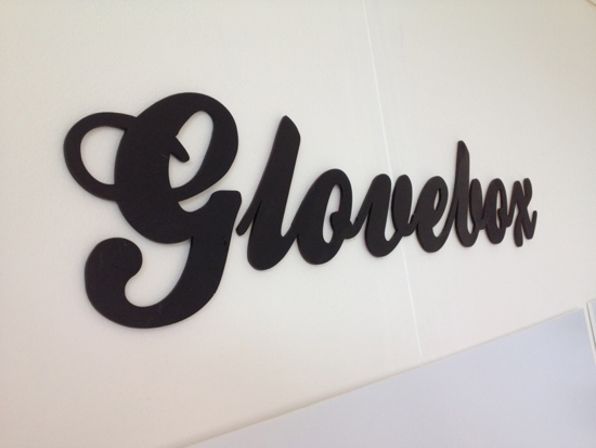 Glovebox lettering cut out using our new hi-tech laser cutter. Special thanks to Tom for his patience with everyone and this machine!