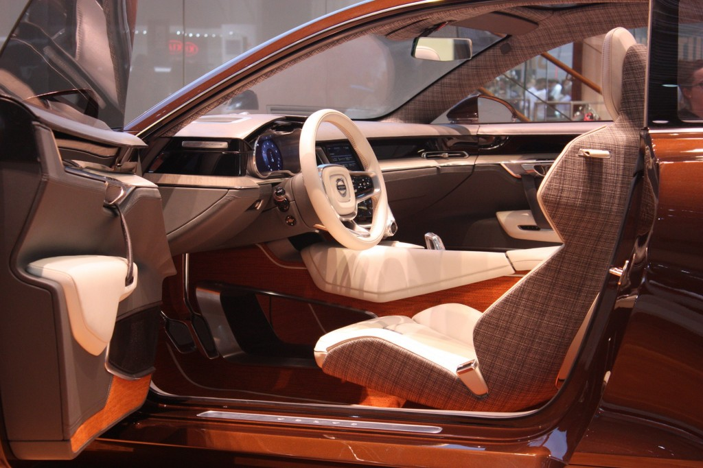 Volvo Concept Estate's Swedish woodland-themed interior