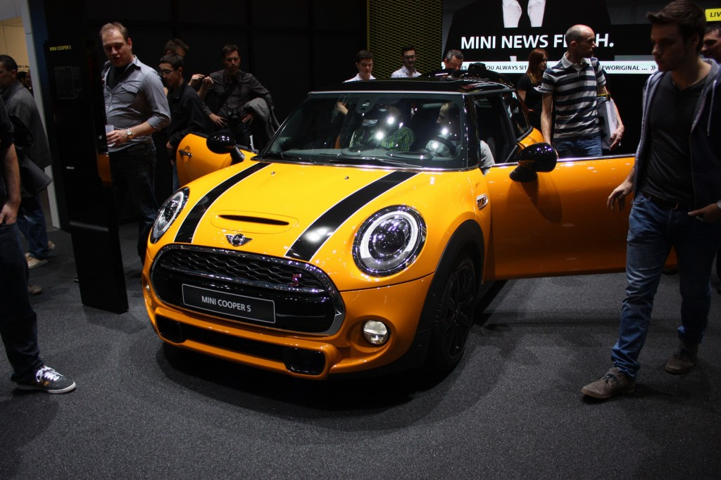 The new MINI. Slightly reminiscent of the fish from Stingray.