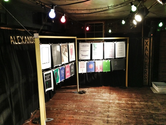 The exhibition at Alexander's